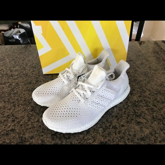 the best attitude 9fcba 5d68d Adidas ultra boost clima triple white BY8888 new NWT